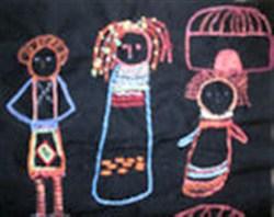 African Ndebele Dolls Basic Kit