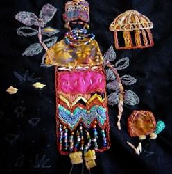 African Village Woman