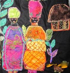African Ndebele Ladies