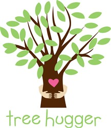 Tree Hugger Print Art