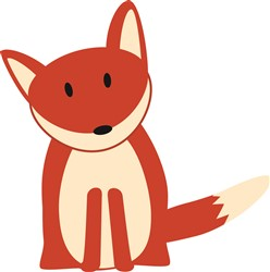 Red Fox Print Art