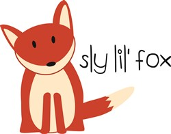 Sly Lil Fox Print Art