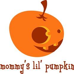 Mommys Lil Pumpkin Print Art