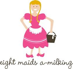 Maids A-Milking Print Art