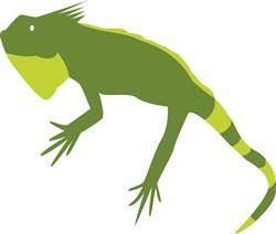 Iguana Print Art