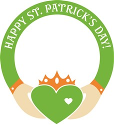 St. Patricks Day Ring Print Art