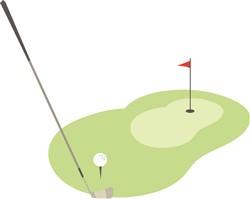 Golf Course Print Art