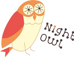 Night Owl Print Art