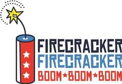 USA Firecracker Print Art