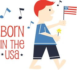 Born In The USA Print Art