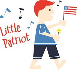 Little Patriot Print Art