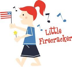 Little Firecracker Print Art