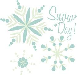 Snow Day Print Art