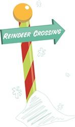 Reindeer Crossing Print Art