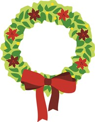 Christmas Wreath Print Art