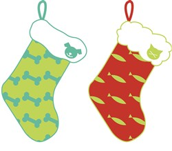 Pet Stockings Print Art