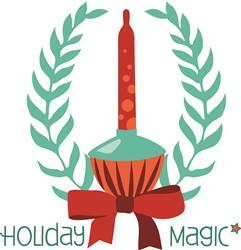 Holiday Magic Print Art
