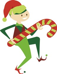 Holiday Elf Print Art