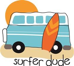 Surfer Dude Print Art