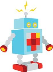Robot Print Art