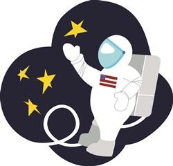 Astronaut Print Art