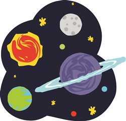 Outer Space Print Art