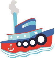 Tug Boat Print Art