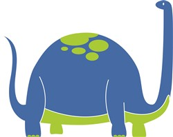 Brontosaurus  Print Art