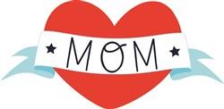 Mom Heart   Print Art