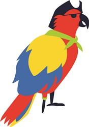 Pirate Parrot   Print Art