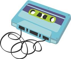 Mix Tape Cassete Print Art