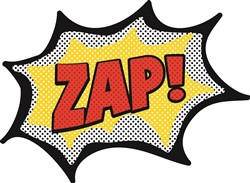 Cartoon Zap Print Art