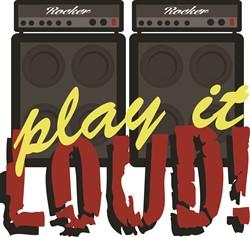 Play It Loud Print Art