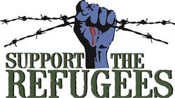 Support Refugees Print Art