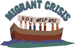 Migrant Crisis Print Art