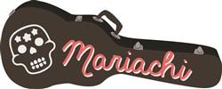 Mariachi Guitar Print Art