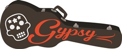 Gypsy Guitar Print Art