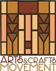 Arts & Crafts Movement Print Art
