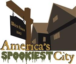 Spookiest City Print Art