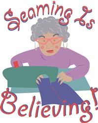 Seaming is Believing Print Art