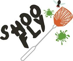 Shoo Fly Print Art