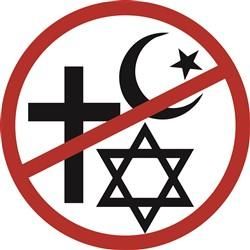 Atheist Symbol Print Art