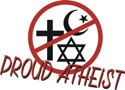 Proud Atheist Print Art