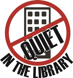 Quiet In Library Print Art
