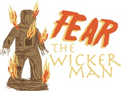 Fear Wicker Man Print Art
