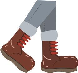 Hike Boots  Print Art