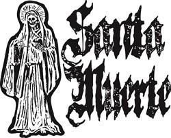 Santa Muerte Print Art