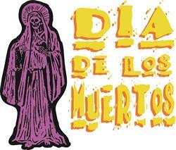Dia De Los Muertos Print Art