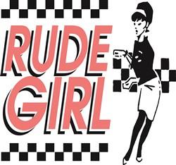 Rude Girl Print Art