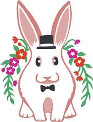 Top Hat Bunny Print Art